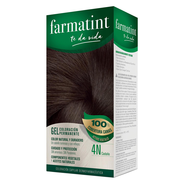 Tinte Classic 4N Castaño Farmatint - Carrefour supermercado compra ...