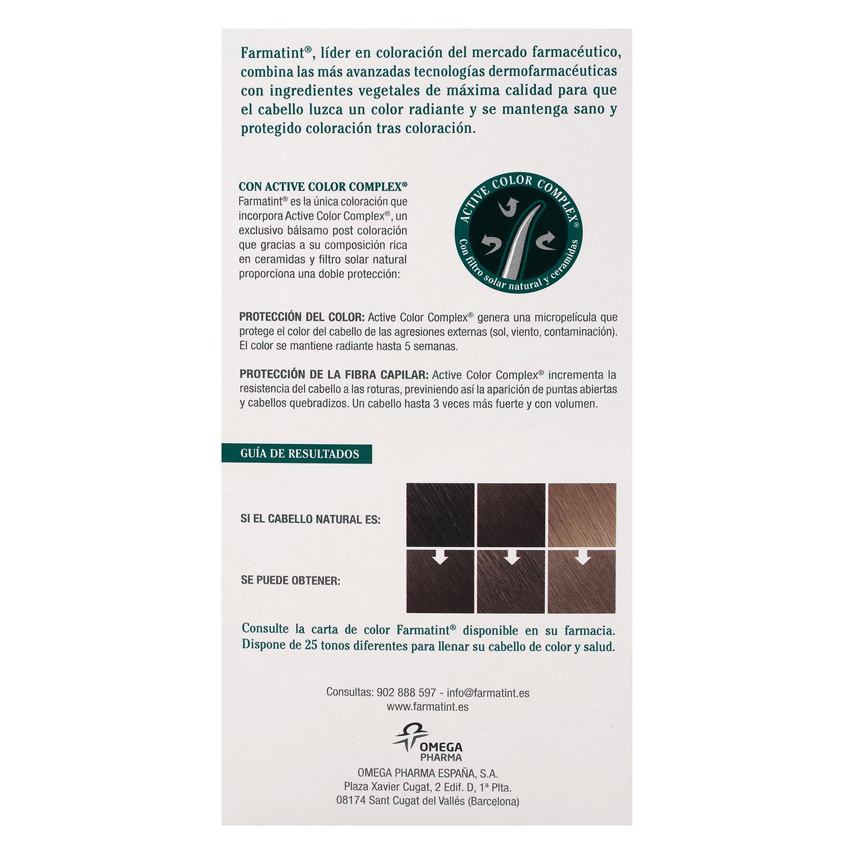 Tinte Classic 6C Rubio Oscuro Ceniza Farmatint 1 ud. -