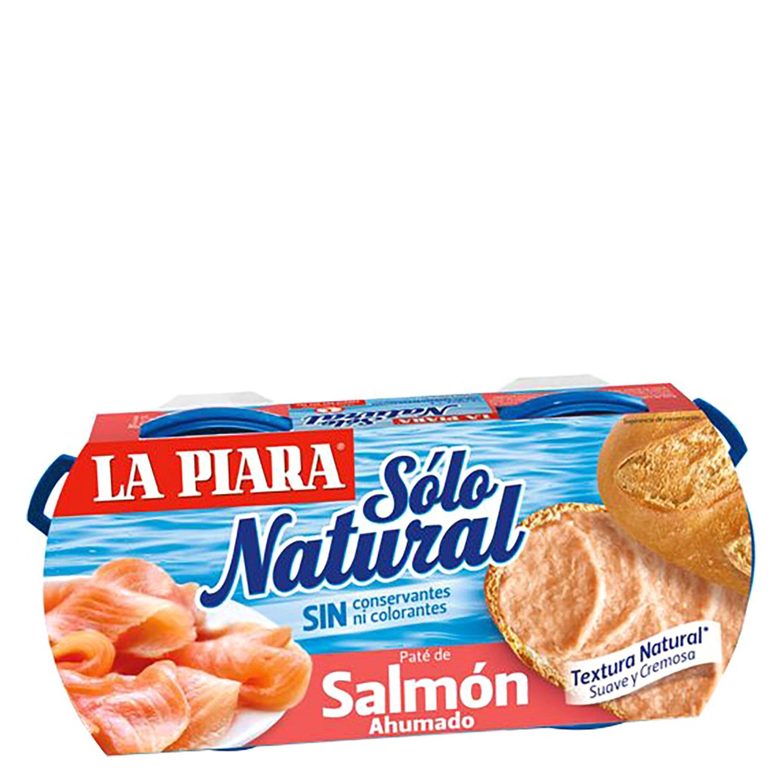 Pate de salmón ahumado Sólo Natural