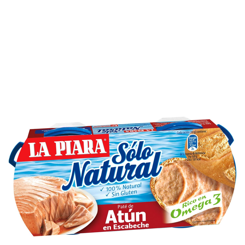 Paté de atún en escabeche La Piara 165 g.