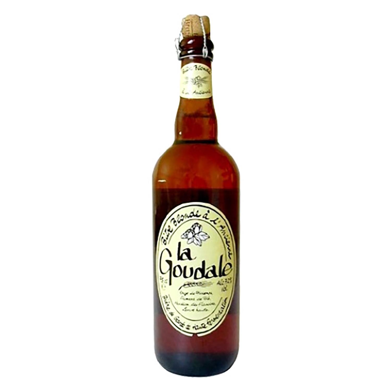 Cerveza La Goudale botella 75 cl.