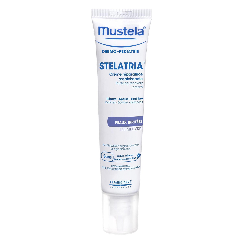 Crema reparadora saneadora pieles irritadas uso bebés y niños Stelatria-Mustela 40 ml.
