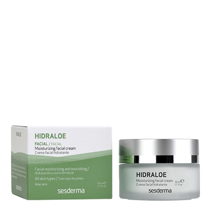 Crema facial hidratante Hidraloe 50 ml.