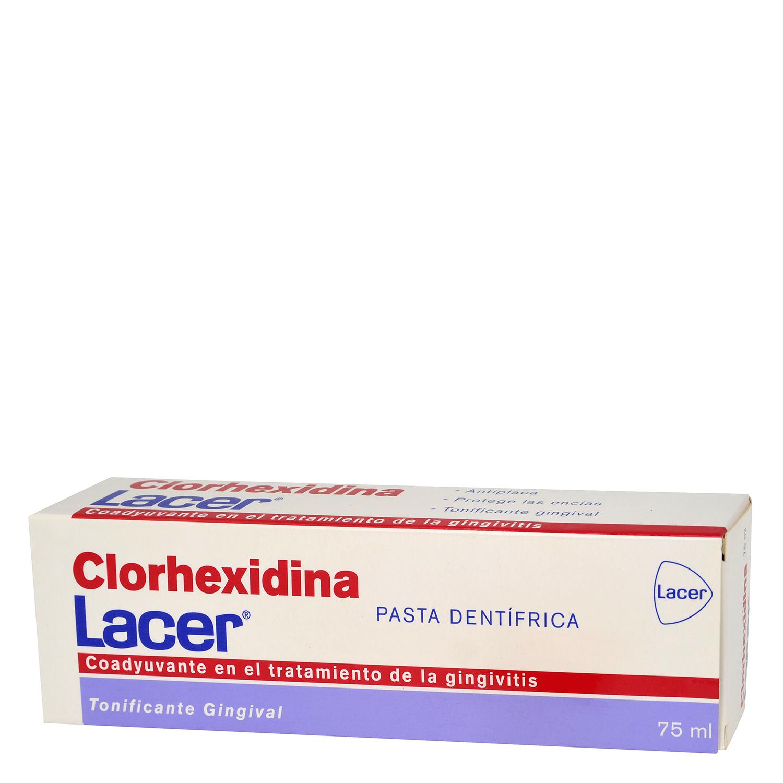Pasta dentífrica clorhexidina tratamiento gingivitis