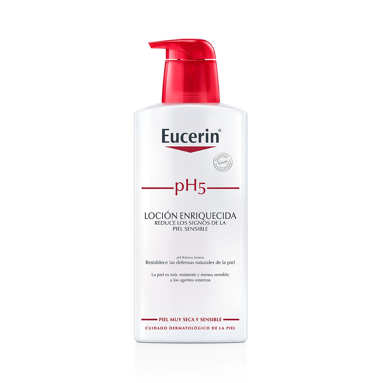 Loción hidratante Enriquecida corporal pH5 para pieles sensibles y secas