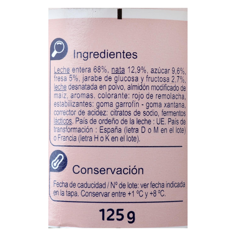 Yogur griego fresa -