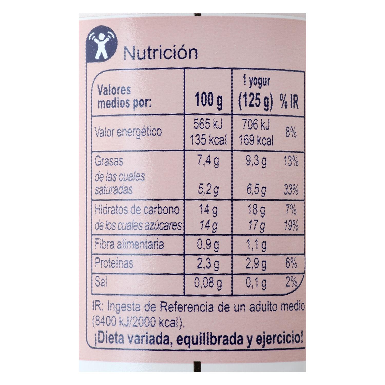 Yogur griego fresa - 2