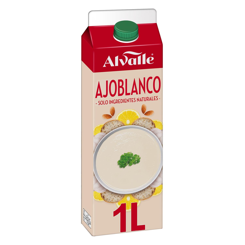 Gazpacho de almendras ajoblanco