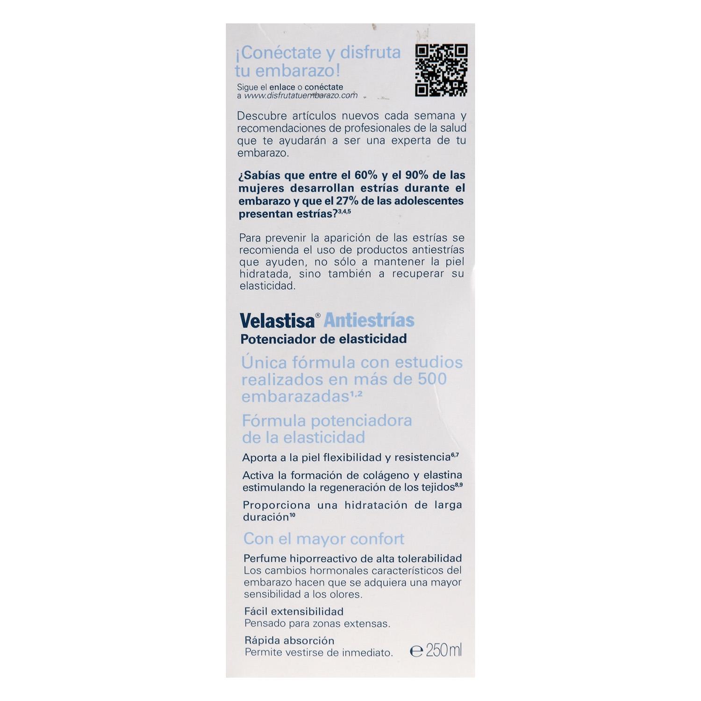 Potenciador de elasticidad Velastisa Antiestrías -