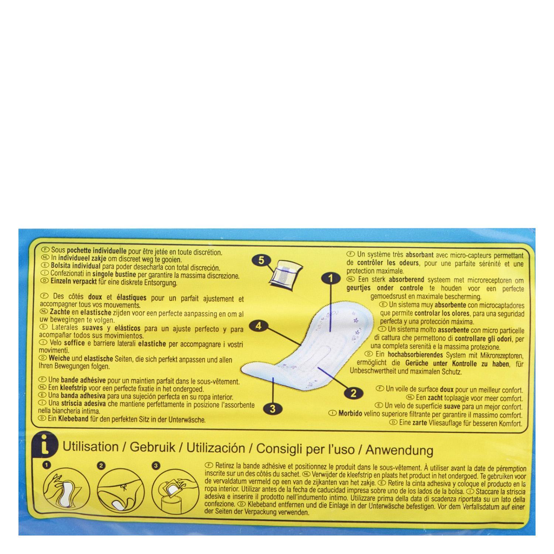 Compresas para pequeñas pérdidas de orina ' Absodys Control ' normal Carrefour 12 ud. - 2