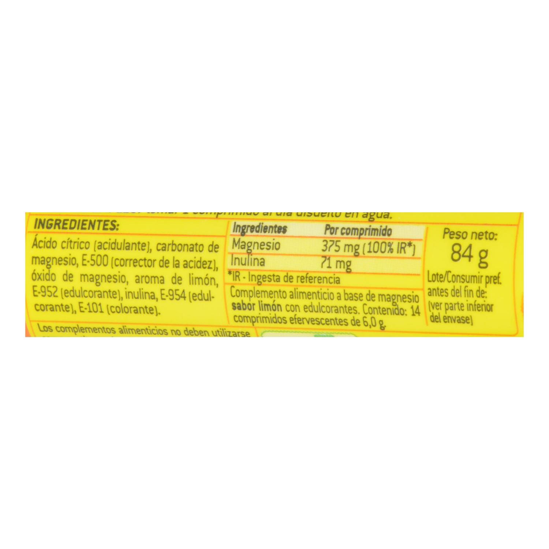 Magnesio en comprimidos efervescentes Aquilea 14 comprimidos. - 2