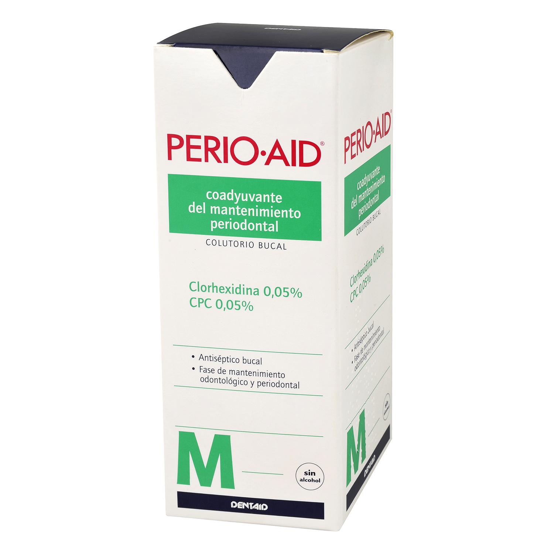 Colutorio bucal mantenimiento periodontal Perio-Aid 500 ml.
