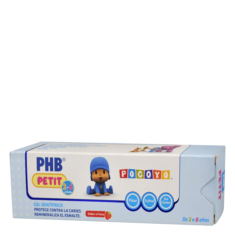 Dentífrico infantil protege contra las caries Phb 75 ml.