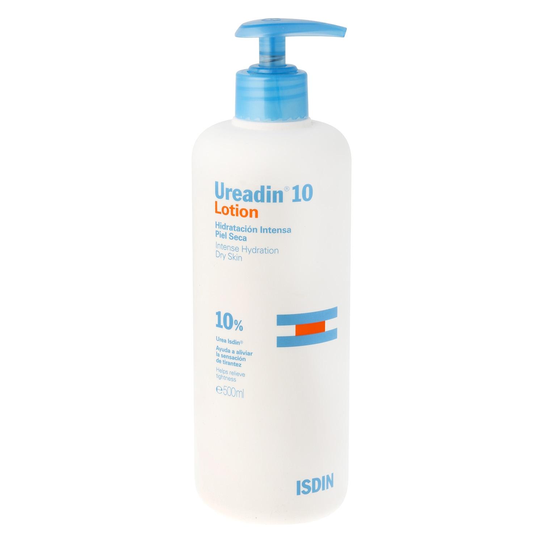 Loción corporal hidratante intensa Ureadin 10 Isdin 500 ml.