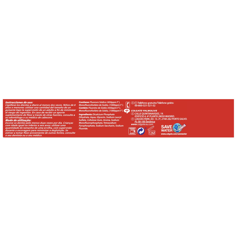 Dentífrico Protección Caries Tubo Duplo Colgate - Carrefour ...