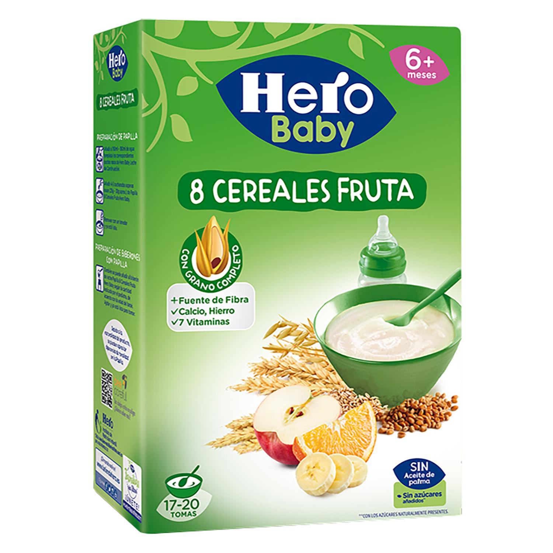 Papilla instantánea cereales y fruta