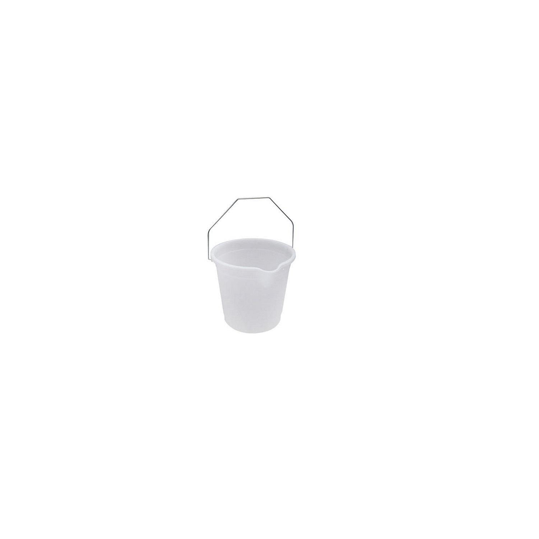 Cubo  de agua de Plástico 10 Litros Translúcido