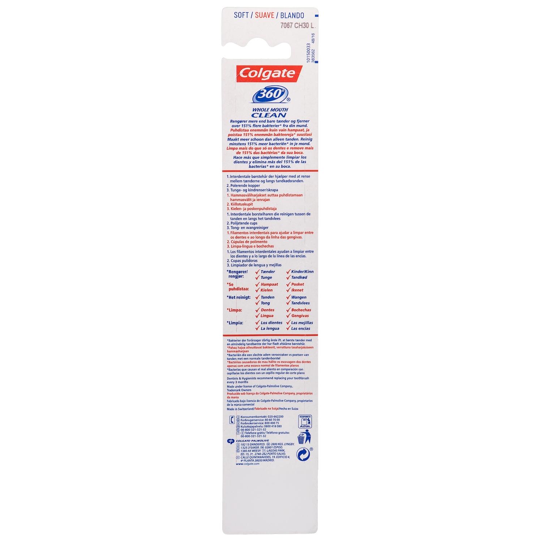 Cepillo dental 360º Suave Colgate 1 ud. Colgate - Carrefour ... 5cb1b63736ea