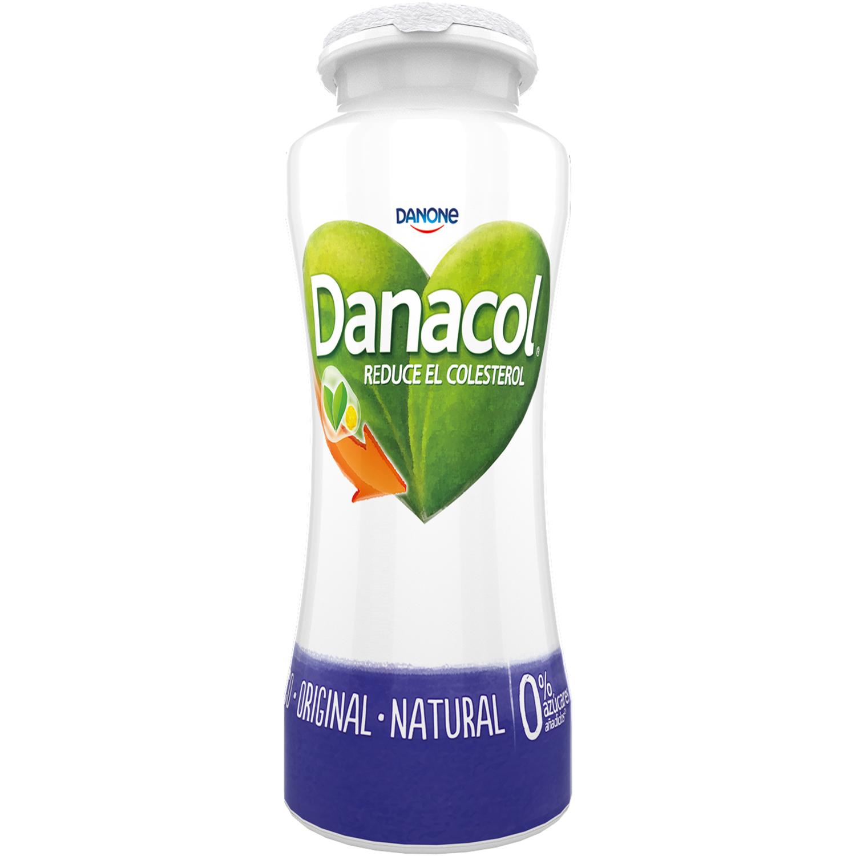 Yogur líquido natural Danone Danacol pack de 6 unidades de 100 g. - 2