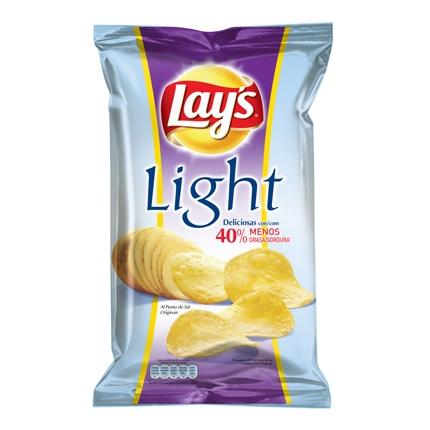 Patatas fritas light Lay's 170 g.