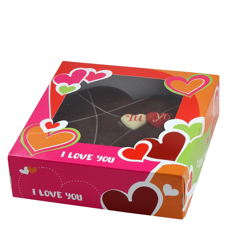 Corazón de chocolate JSP 450 g