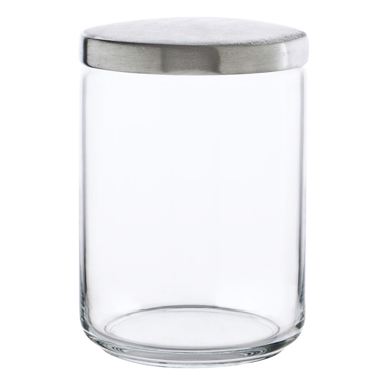 Bote Redondo de Cristal LUMINARC Boxmanía 1 L. - Transparente