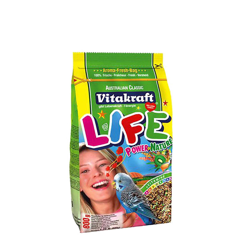 Menú para Periquitos Vitakraft Premium Life 800 gr -
