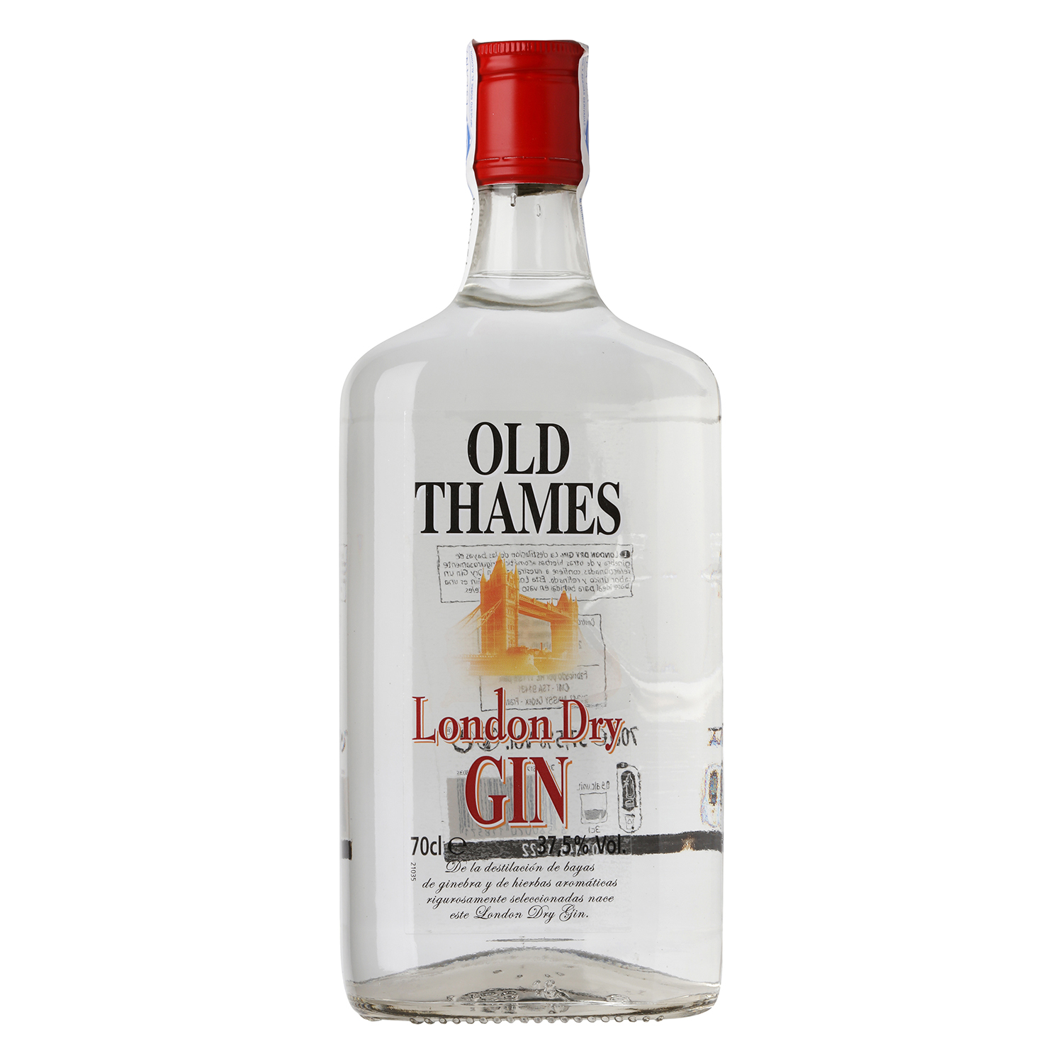 Ginebra Old Thames 70 cl.