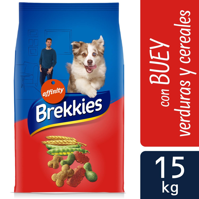 Brekkies Pienso para Perros Mix buey  Excel 15 kg