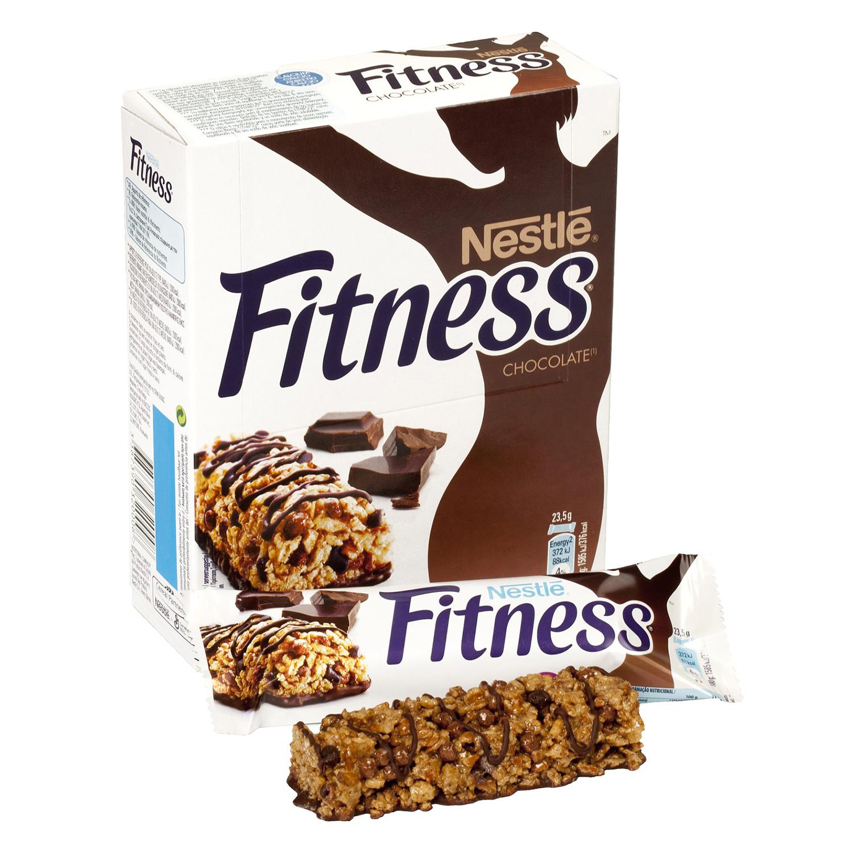 Barritas de cereales con chocolate