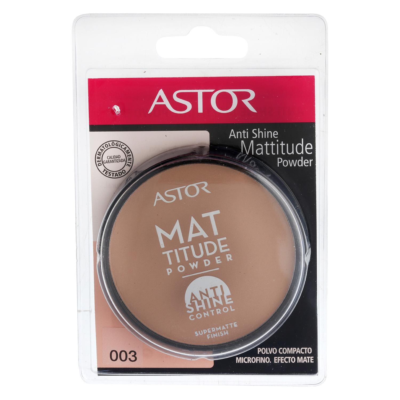 Polvos compactos antishine Mattitude powder nº 003