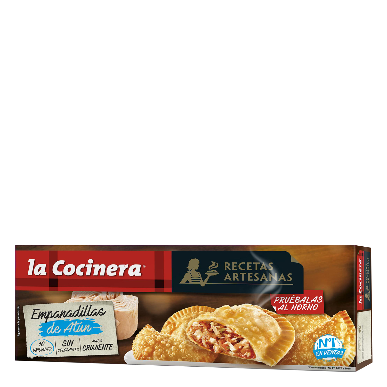 Empanadillas de bonito La Cocinera 312 g.