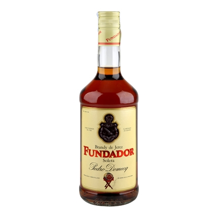 Brandy Fundador solera 70 cl.