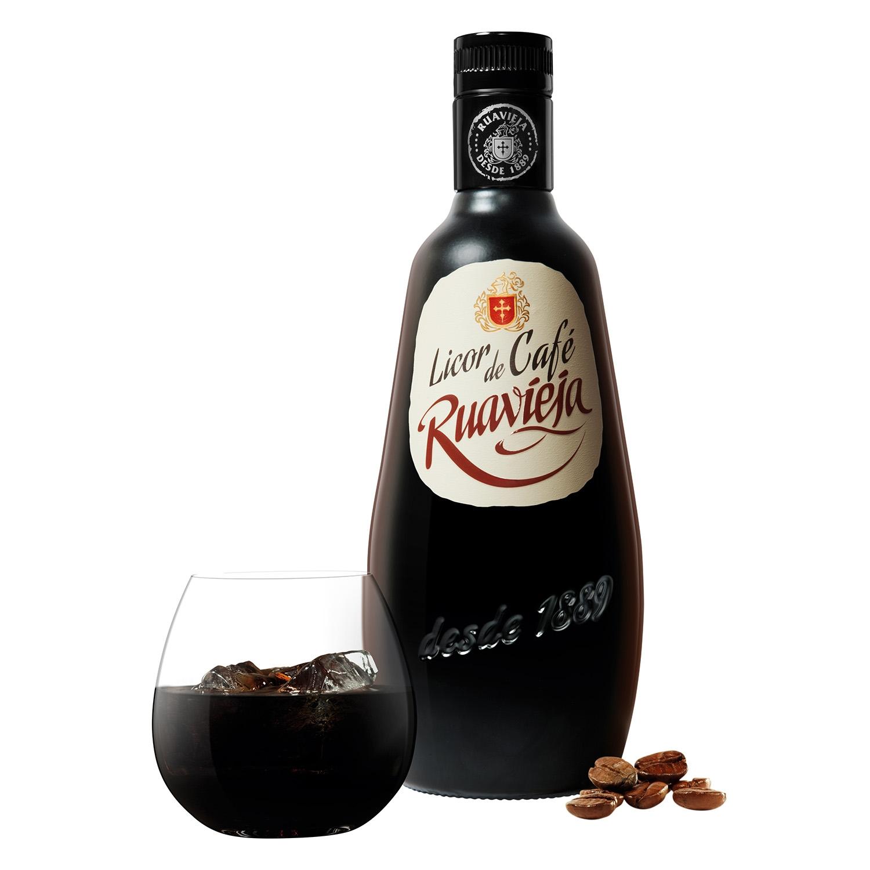 Licor de café Ruavieja 70 cl. -