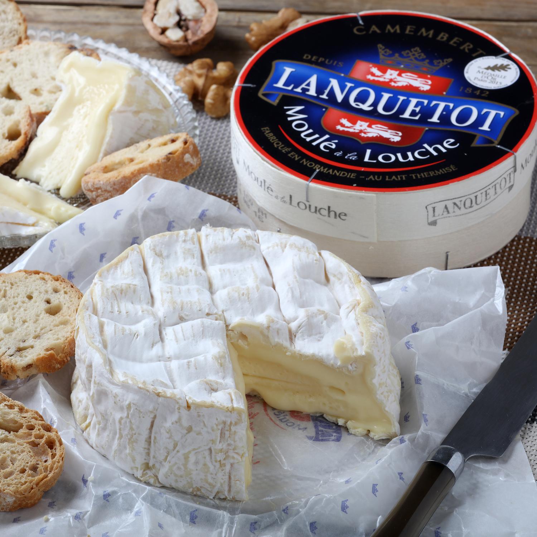 Queso camembert D.O. Lanquelot Lactalis 250 g -