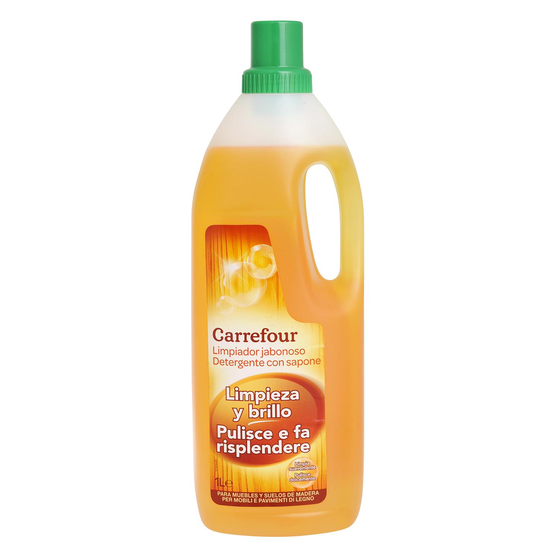 Limpiador jabonoso para madera Carrefour - Carrefour supermercado ...