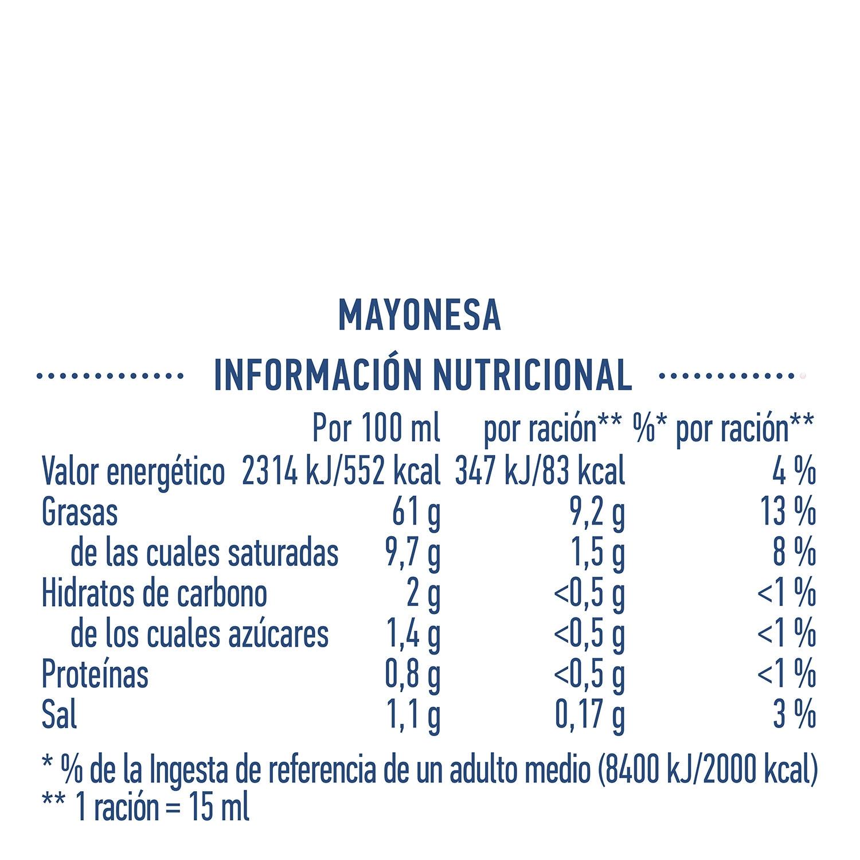 Mayonesa Hellmann's tarro 650 ml. - 3