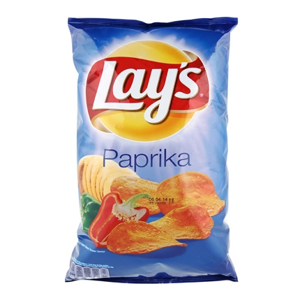 Patatas fritas sabor paprika Lay's 200 g.