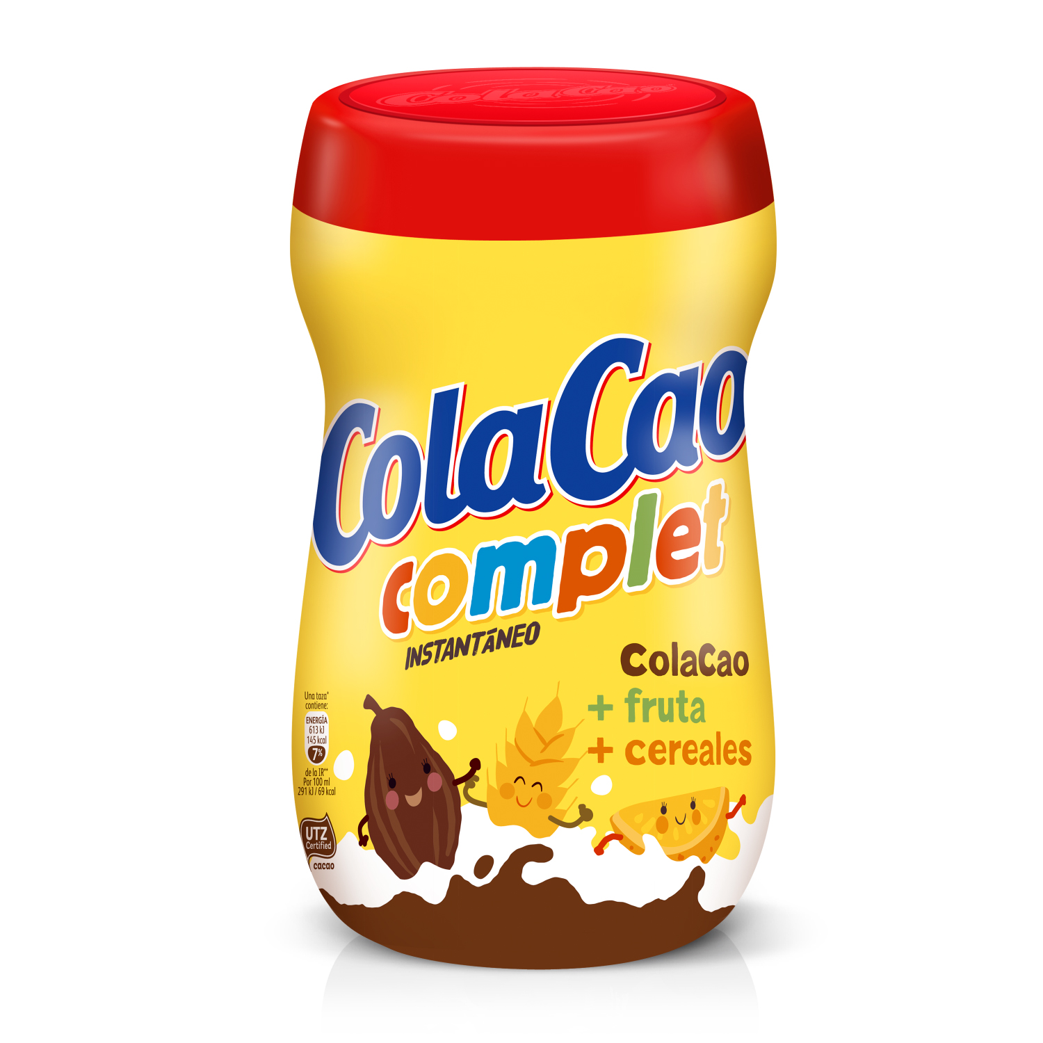 Cacao soluble instantáneo Cola Cao Complet 750 g.
