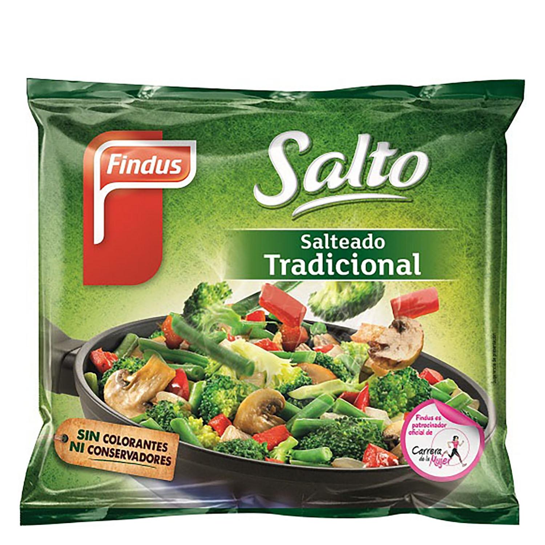 Salteado verdura tradicional