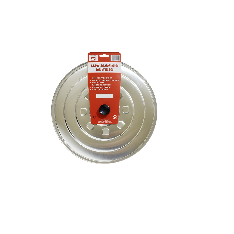 Tapa de Aluminio 24cm - Inox