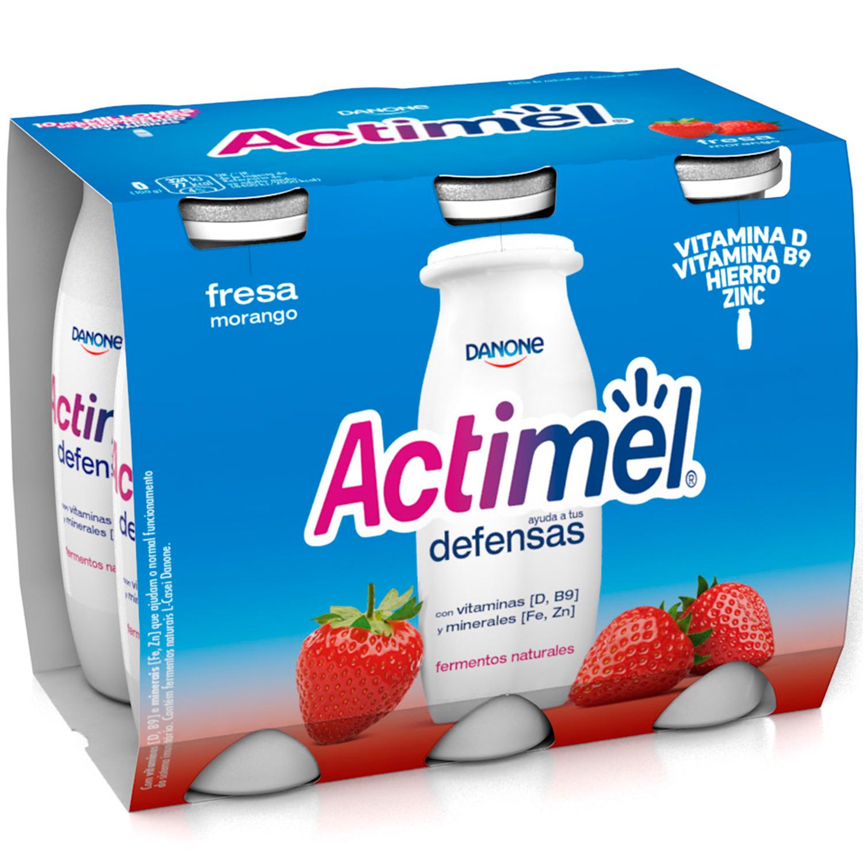 Yogur Líquido Casei Fresa -