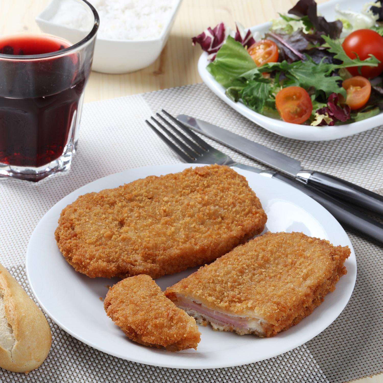 Lomo de Cerdo Relleno de Jamon y Queso Carrefour 500 g