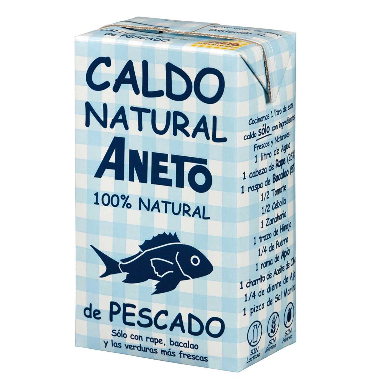 Caldo de pescado natural