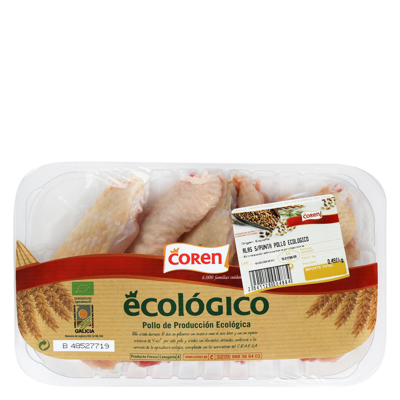 Alas de pollo ecológico Coren - 2