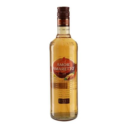 Licor amaretto Rives sin alcohol 70 cl.