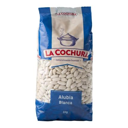 Alubia blanca La Cochura 1 kg.
