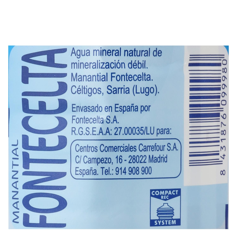 Agua mineral Carrefour natural 1,5 l. -