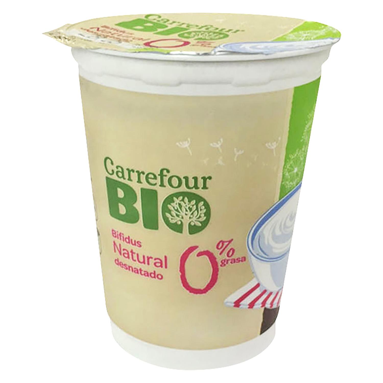 Yogur Bífidus 0% natural