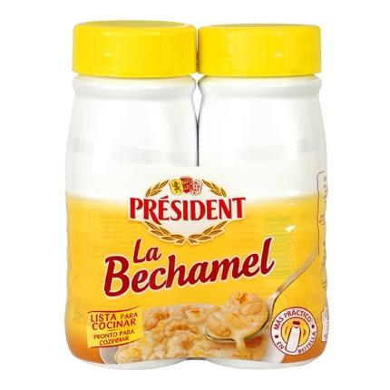 Salsa bechamel Président pack de 2 briks de 250 ml.